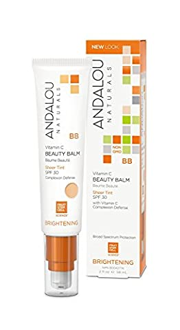 Andalou All-in-One Beauty Balm Sheer Tint with SPF 30 58