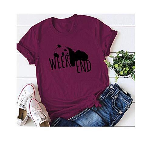 Country Cute Kostüm - Pnada Print Fluorescent Green T-Shirt Frauen Baumwolle O Neck Kurzarm Sommer T-Shirt A0531-jiuhong L
