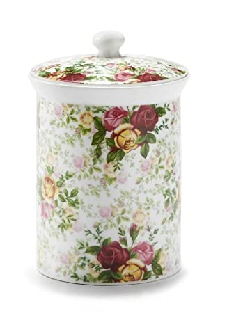 Royal Albert Country Rose Chintz Cookie Jar by Royal