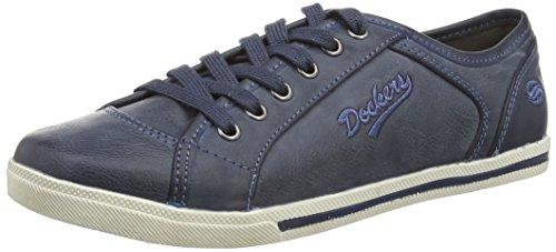 Janelas De Encaixe Por Gerli 27ch247-620670 Senhoras Sneakers Azul (azul Escuro 670)