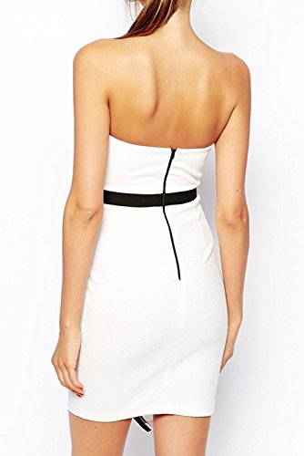 E-Girl femme Blanc SY21499 Tenue De Soiree Blanc