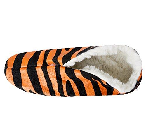 Brubaker , Pantoufles mixte adulte Orange - Orange / Schwarz