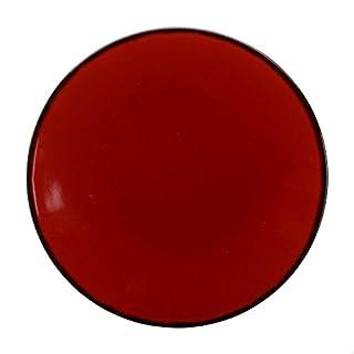 Avet Spain Set Of Dinner Plates, Stoneware 27.5x27.5x2.5 cm red