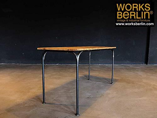 Industrieller Tisch/Fabriktisch aus eigener Manufaktur - Kiefer Rechteckig Esstisch
