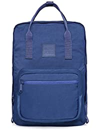 MOREPURE Bolso Mochila Cabe un MacBook de 15 Pulgadas, 37x27x12 cm