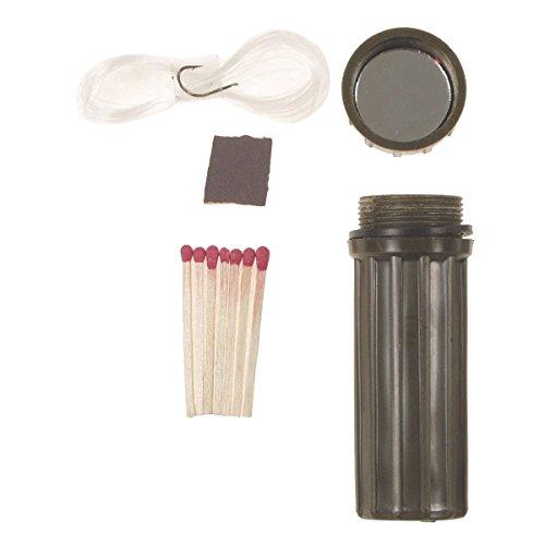 BKL1® Wasserdichte Streichholzbox, Notfallbox Angelset Geldversteck 532