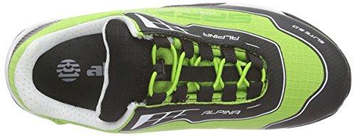 Alpina 680351, Chaussures de randonnée mixte adulte Vert - Vert