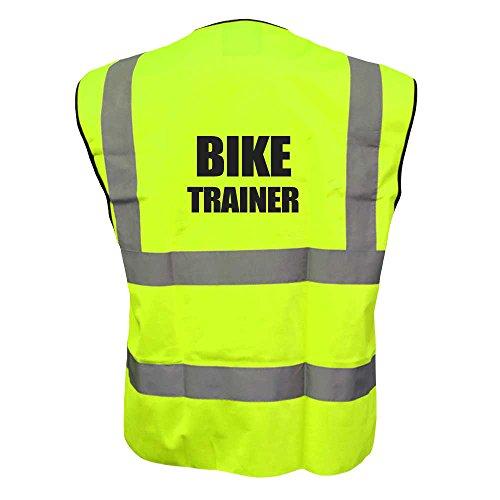 Bike TRAINER-Gilet catarifrangente ad alta visibilità, per bici da strada riflettente di sicurezza, gilet di (Brooks Trainer)