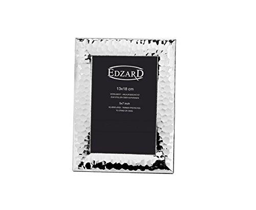 Edzard - Fotorahmen Gubbio - versilbert 13x18 cm