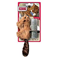 KONG Refillable Catnip Beaver Cat Toy