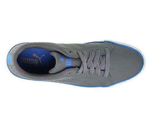 Puma Men's Rick Point NU Idp Dark Shadow-Royal Blue Sneakers-10 UK/India (44.5 EU)(36777403)