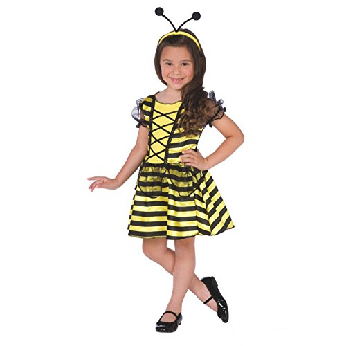 Morph OMPAL17961CL Kostüm Girls Honey Bee Fairy - Honey Bee Kostüm Kinder