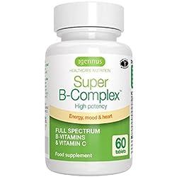 Igennus Healthcare Nutrition Super B-Complex Tabletas de Complejos Vitamínicos B - 1 Unidad
