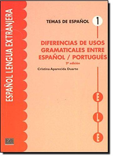 Diferencias de usos gramaticales (Temas de Español) por Cristina Aparecida Duarte