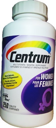 Centrum For Women - 250 Tablets (Value Pack)