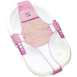 StillCool Badewannensitz Baby Badewanne Schätzchen neugeboren Badesitz Babybadewanne Sicherheitsbadesitz Unterstützung Babyparty Badezubehör (Rosa)