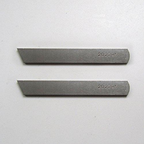 kunpeng-unten Messer für Pegasus Baureihe E Industrie Overlock Overlock-Maschine Maschinen # 202295(2Pcs)