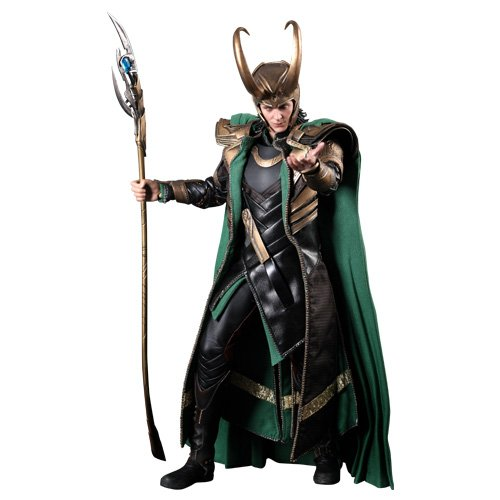 Kostüm Loki Marvel - The Avengers: Loki | Deluxe-Figur (voll beweglich) | Hot Toys | MMS176