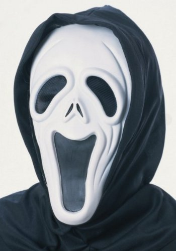 Rubie´s Offizielles Halloween Howling Ghost Maske Sortiment Erwachsene (One Size) (Howling Ghost Kostüm)