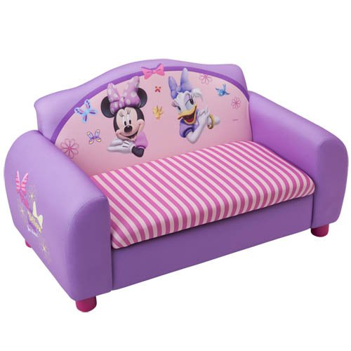 Kindersofa mit Motivauswahl (Minnie Mouse) - 2