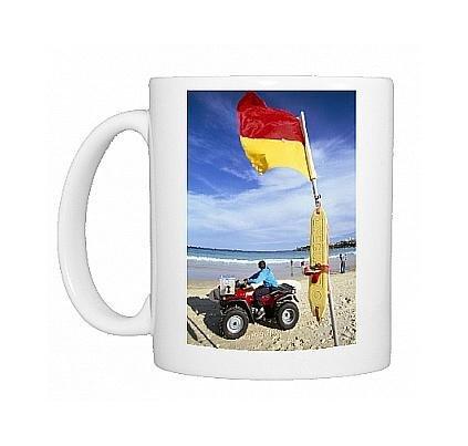 photo-mug-of-swimming-flag-and-patrolling-lifeguard-at-bondi-beach-sydney-new-south-wales-by-robert-