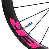 Espeedy Tapón de válvula,Aleación de aluminio MTB Ciclismo bicicleta neumáticos válvula vástago tapas a prueba de polvo accesorios de bicicletas piezas