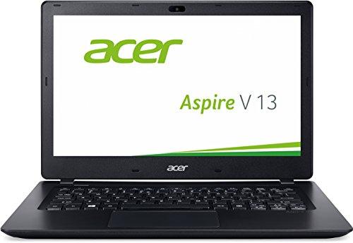 Acer Aspire V 13 (V3-372-723H) 33,8 cm (13,3 Zoll Full HD IPS) Laptop (Intel Core i7-6500U, 8 GB, 256GB SSD, Intel HD Graphics 520, Win 10 Home) schwarz