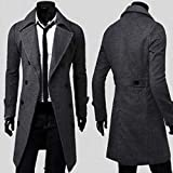 Wool Trench Coat For Men
