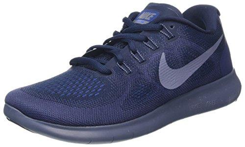 Nike Herren Free RN 2017 Laufschuhe, Blau (Obsidian/Light Carbon/neutral Indigo/Racer Blue 408), 39 EU