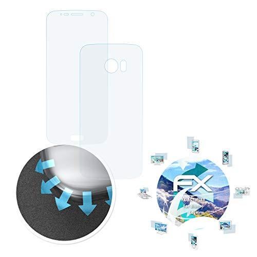 atFolix Schutzfolie passend für Bluboo Edge Folie, ultraklare & Flexible FX Bildschirmschutzfolie (3er Set)