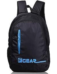 F Gear Bi Frost 26 Ltrs Black Casual Backpack (2471)