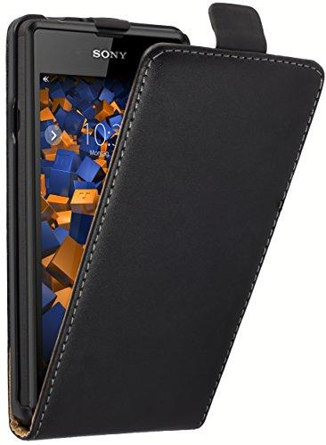 mumbi Flip Case für Sony Xperia E3 Tasche