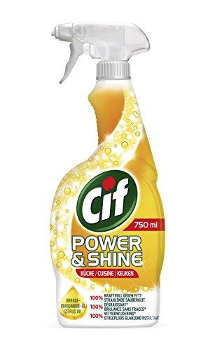 Cif Power und Shine Reiniger Spray Küche, 6er Pack (6 x 750 ml) -