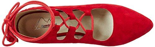 Andrea Conti - 3003422, Scarpe col tacco Donna Rosso (Rot)