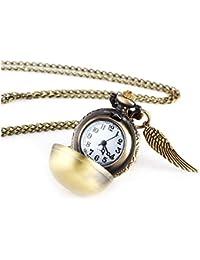 GYwink Reloj de Bolsillo para Enfermera, de aleación, Llavero para Colgar, Reloj Fob, Reloj de Cuarzo para Hombre y Mujer
