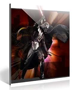 Produit original sous licence star wars dARTH vADER digital-art exklusiv tableau sur aluminium anti-uV film de protection brillant, pour une longue durée de vie photos prêt à accrocher ou papier peint