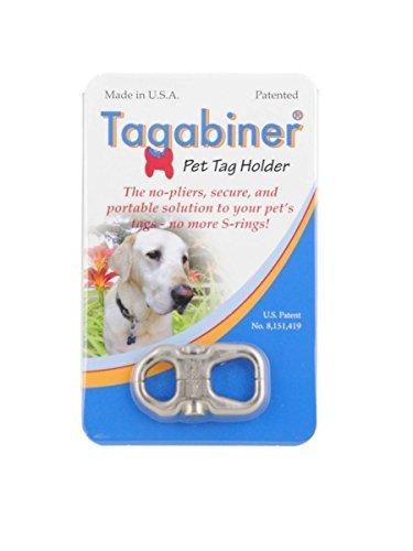 tagabiner Pet Tag Holder by Crown Hill Designs, LLC -