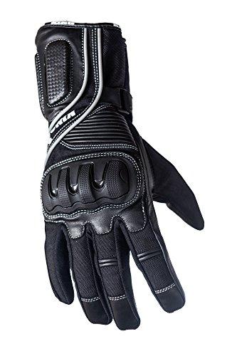 Schützen die King Crow Premium Leder Gauntlet Sport Biker Motorrad Handschuhe, xl Gauntlet Handschuhe Motorrad