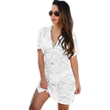 meinice trasparente Lace Cover Up (Pocket Cami)