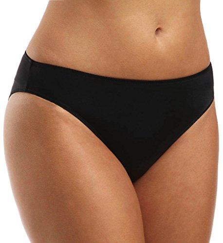 Prima Donna SATIN   Slip Schlichter und gleichwohl eleganter Rioslip mit einem zeitgemäßen, gut sitzenden Schnitt. Der Slip ist nahtlos gefertigt und schneidet nicht ein.(0561330) Black