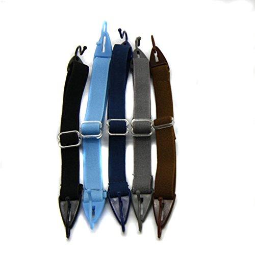 EnzoDate Kinder Gläser Strap, Kinder Brillen Schnur, Sport Eyewear Kopf Band Retainer (5 Stück pro Paket) (Boys gemischte Farben)