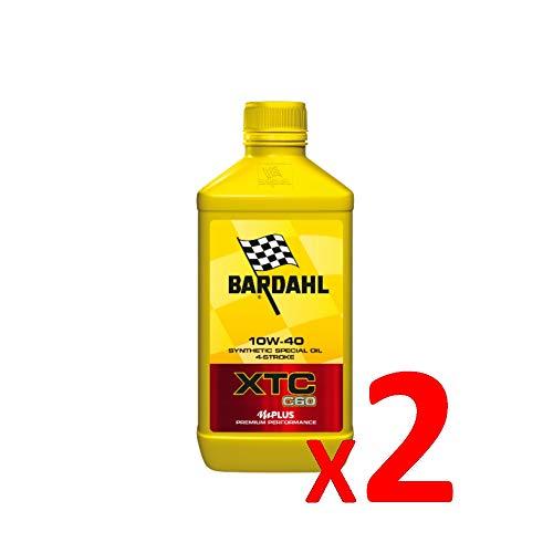 Bardahl Olio Moto XTC C60 10W-40 Sintetico 4 Tempi - 326140 (2)