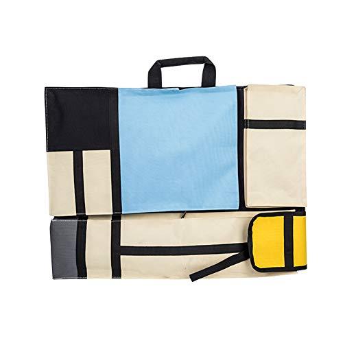 Kunst Portfolio (Reisen Kunstbedarf tragen Rucksack - Zeichnung colorized Sketch Board Kunst Aufbewahrungstasche Portfolio Rucksack Künstler Tragetasche mit Schultergurt, 4K)