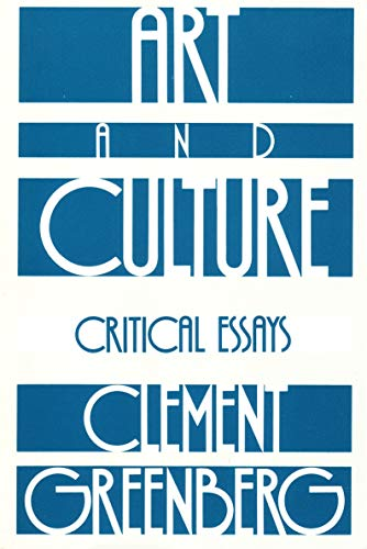Art And Culture: Critical Essays (Beacon Paperback, 212)