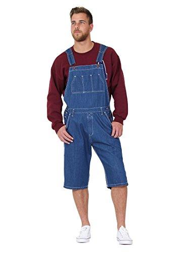 Herren Latzhose Overall Shorts Lightwash kurze latzhose latz shorts BLAKESW-S-32