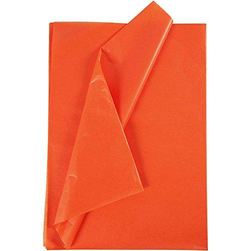 50x70cm, 17cm, orange, 25 Blatt ()