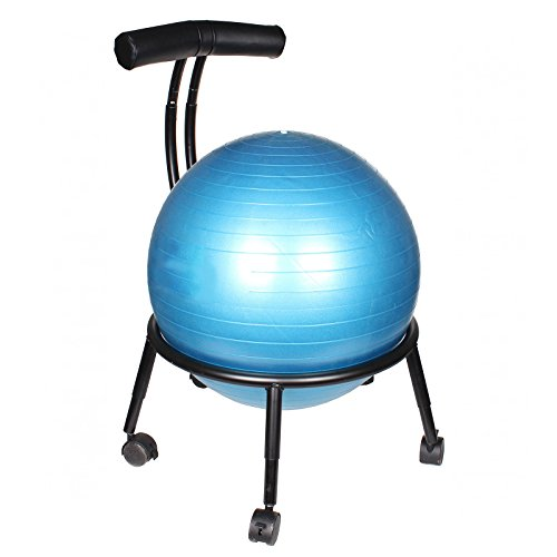 Carnegie fitness pilates stability exercise ball chair