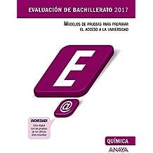 Química (Evaluación de Bachillerato 2017)