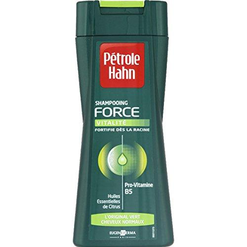 Pétrol Hahn - Force - L'original vert, shampooing provitamine B5, huiles essentielles de citrus, cheveux normaux - Le flacon de 250ml - (pour la quantité plus que 1 nous vous remboursons le port supplémentaire)