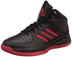 Adidas Mens Court Fury Cblack/Cblack/Scarle Basketball Shoes - 11 UK/India (46 EU)